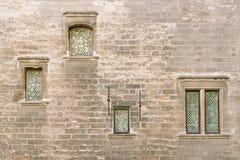 阿维尼翁罗马教皇的宫殿 免版税图库摄影