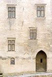 阿维尼翁罗马教皇的宫殿 免版税库存照片