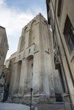 阿维尼翁, Palais des Papes 免版税图库摄影