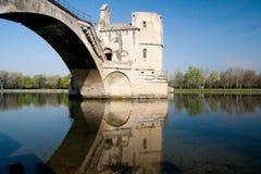 阿维尼翁d pont 免版税库存照片