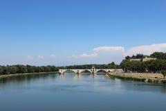 阿维尼翁d pont 免版税库存图片