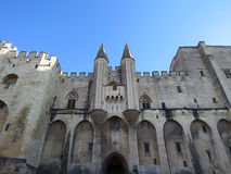 阿维尼翁des法国palais papes 免版税库存图片