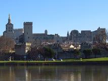 阿维尼翁des法国palais papes 免版税库存照片