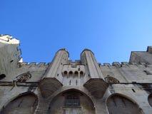 阿维尼翁des法国palais papes 图库摄影