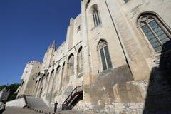 阿维尼翁des palais papes 免版税库存照片