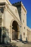 阿维尼翁des palais papes 库存照片