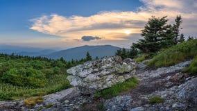阿巴拉契亚人Mountans,软羊皮的山,田纳西 免版税库存图片