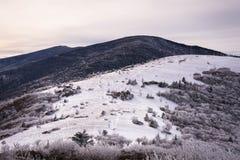 阿巴拉契亚山脉在冬天2 免版税图库摄影