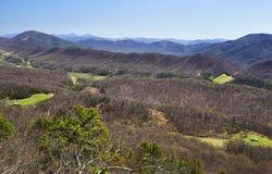 阿巴拉契亚山脉在弗吉尼亚 免版税库存图片