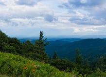 阿巴拉契亚山脉 库存图片
