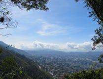 从阿维拉山的加拉加斯 免版税图库摄影