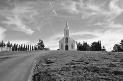 阿维拉教会圣特里萨  免版税库存图片