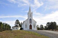 阿维拉教会圣特里萨  图库摄影