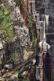 附上的工业梯子 免版税图库摄影