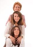 附加妇女 免版税库存照片