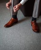 附加鞋子 免版税库存照片