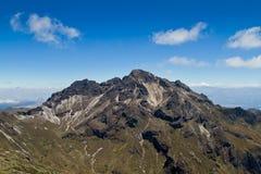 附近Pichincha火山基多,厄瓜多尔 图库摄影