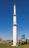 洲际弹道导弹SS-13 mod.1野人 库存照片