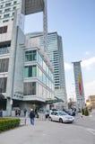 洲际的旅馆在华沙 免版税图库摄影