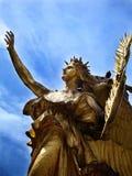 陆军全部曼哈顿广场雕象 免版税图库摄影