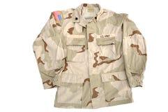 陆军军人衬衣 免版税库存照片
