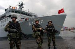 陆军土耳其 免版税图库摄影