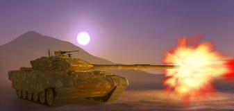陆军坦克。 免版税库存照片