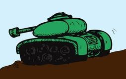 陆军坦克 库存例证