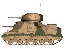 陆军坦克 免版税库存照片