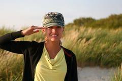 陆军女孩 库存图片
