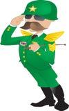 陆军将军 免版税库存图片