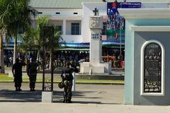 陆军庆祝日leste国民timor 图库摄影