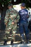 陆军庆祝日leste国民timor 免版税库存图片
