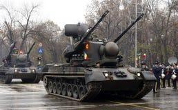 陆军强制罗马尼亚坦克 免版税图库摄影