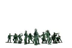 陆军战士 免版税库存照片