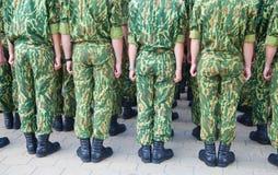 陆军特殊部门 免版税库存照片