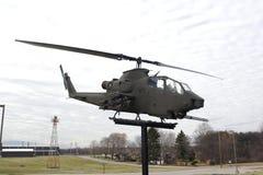 陆军直升机 免版税库存照片