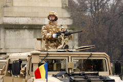 陆军罗马尼亚语 库存照片