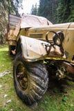 陆军老卡车 免版税库存图片