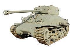 陆军老t26坦克我们 图库摄影