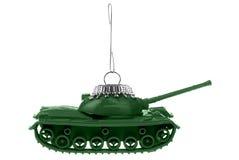 陆军装饰品坦克 库存图片