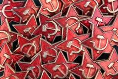 陆军证章军事苏维埃 免版税图库摄影