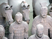 陆军赤土陶器 库存照片