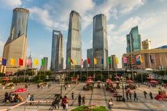 陆家嘴财务和贸易区,浦东, Shangha 库存照片