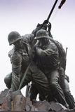 陆战队战争纪念建筑 库存图片