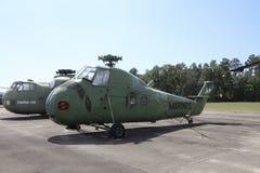 陆战队直升机绿色 图库摄影