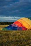 登陆的气球 库存图片
