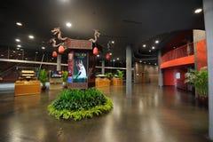 陈列全部大厅国家戏院 库存图片