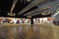 陈列全部大厅国家戏院 免版税库存照片