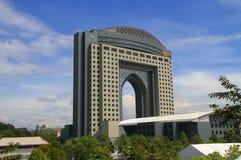 陈列和会议中心或吉隆坡 库存照片
